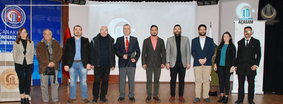 ÇOMÜ'DE Türk Askerî Kıyafetleri Konuşuldu