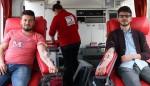 Ayvacık MYO'da Kızılay Kan Bağışı