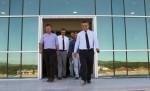 Çanakkale Onsekiz Mart Üniversitesi Rektörü Prof.Dr. Yücel Acer Ayvacık MYO'yu Ziyaret Etti