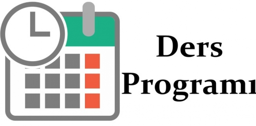 2019-2020 Eğitim Öğretim Yılı Bahar Yarıyılı Ders Programı