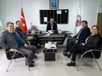 Biga İŞKUR Müdürü Ahmet UZUNER Meslek Yüksekokulumuzu Ziyaret Etmişlerdir.