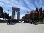 ÇOMÜ Öğrencileri Ecdadı ile Buluşuyor Projesi kapsamında Çanakkale Şehitlikleri Gezisi Düzenlenmiştir.