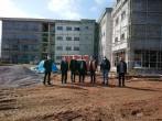 Biga Ticaret ve Sanayi Odası Başkanı Şadan Doğan Meslek Yüksekokulumuz İnşaatını Yerinde Gezerek Bilgi Almışlardır.