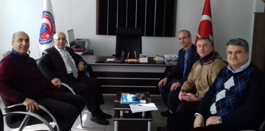 İstanbul Üniversitesi Rektör Yardımcısı Prof.Dr.Sedat MURAT Biga Meslek Yüksekokulunu Ziyaret Etti