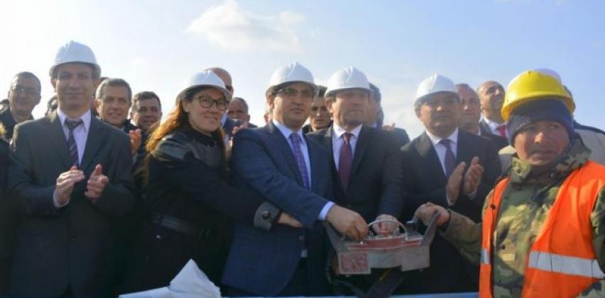 Meslek Yüksekokulumuzun Yeni Binasının Temel Atma Töreni Gerçekleştirildi.