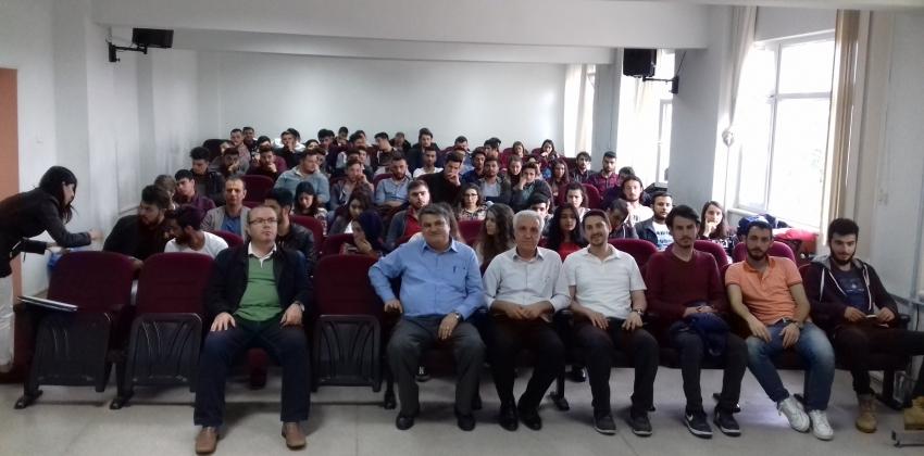 Dikey Geçiş Sınavı (DGS) Konulu Konferans Düzenlendi