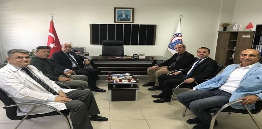 Biga Kaymakamı Mustafa Can Meslek Yüksekokulumuzu Ziyaret Etti.