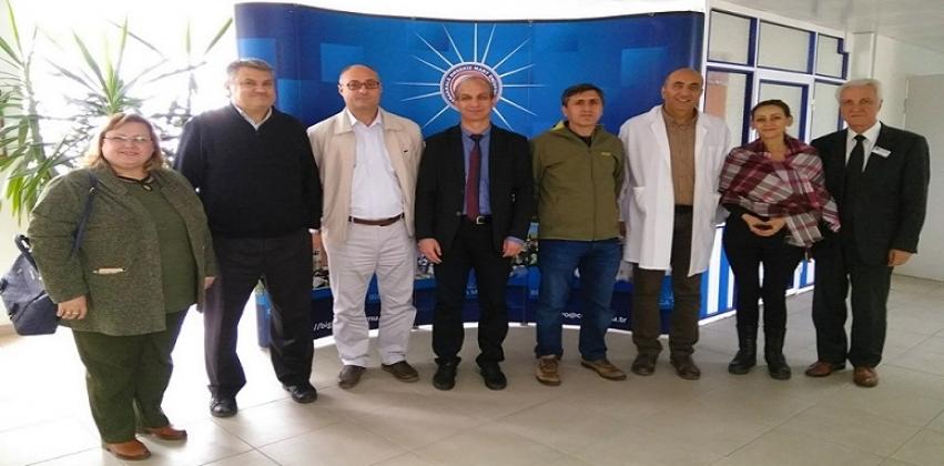 Çan MYO Müdürü Prof. Dr. Murat YILDIRIM ve Çan Uygulamalı Bilimler Yüksekokulu Müdürü Prof. Dr. Çetin KANTAR Meslek Yüksekokulumuzu Ziyaret Ettiler.