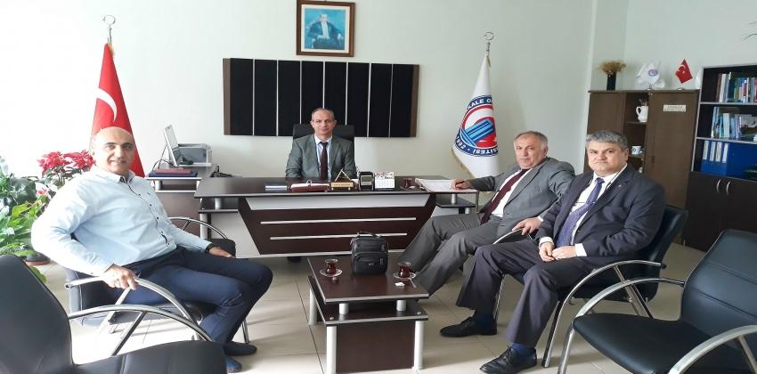 Biga Hamdibey Mesleki ve Teknik Anadolu Lisesi ile Sosyal ve Bilimsel İşbirliği Protokolü İmzalanmıştır.