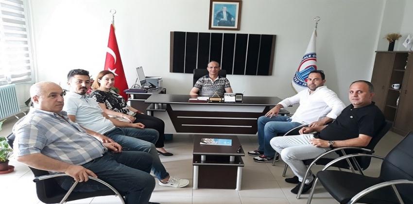 Biga TSO Eğitim Komisyonu Meslek Yüksekokulumuzu Ziyaret Etti.