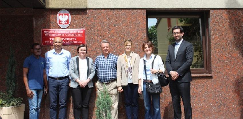 Biga MYO ile Polonya Dabrowa Gornızca Üni. Arasında Erasmus Personel Hareketliliği