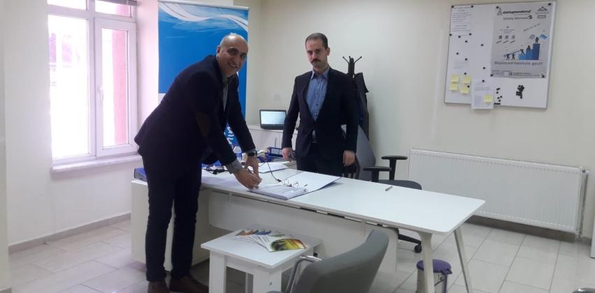 Meslek Yüksekokulumuz İle Güney Marmara Kalkınma Ajansı Arasında Proje Protokolü İmzalanmıştır.