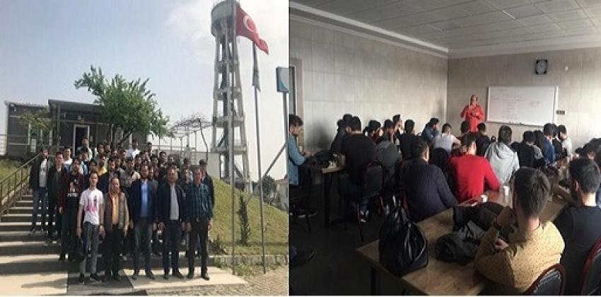 Öğrencilerimiz Biga Organize Sanayi Bölgesi Firmalarına 22-26 Nisan 2019 Haftası Süresince Teknik  Gezi Düzenledi.