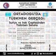 """BİİBF'de """"Ortadoğu'da Türkmen Gerçeği"""" Konulu Bir Konferans Düzenlendi"""