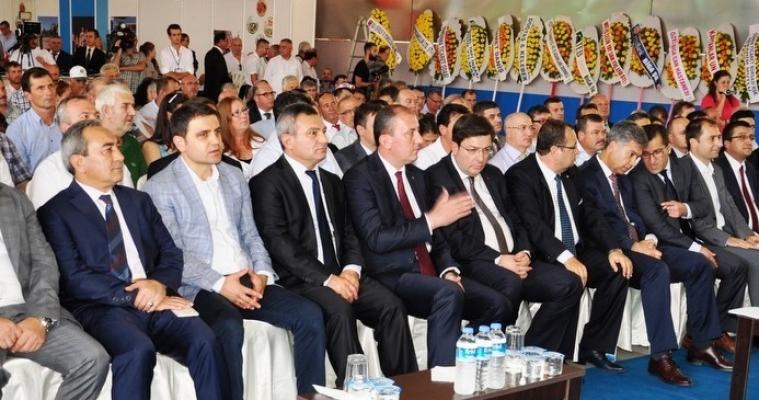 Rektör Prof. Dr. Yücel Acer 10. Biga Fuarı Açılışına Katıldı