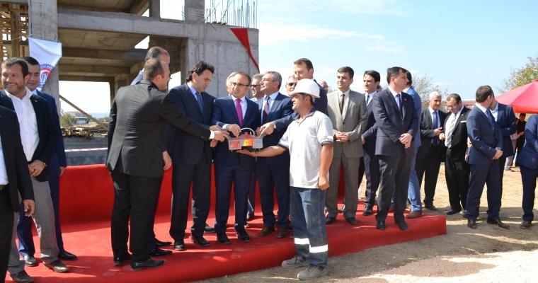 Biga Ağaköy Yerleşkesi Camisinin Temel Atma Töreni Gerçekleştirildi