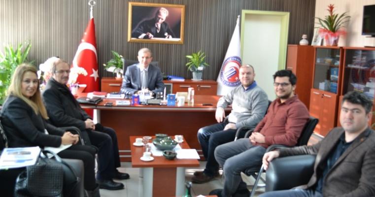 Güney Marmara Kalkınma Ajansı Fakültemizi Ziyaret Etti.
