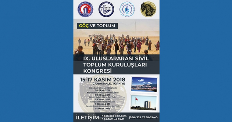 IX.Uluslararası Sivil Toplum Kuruluşları Kongresi