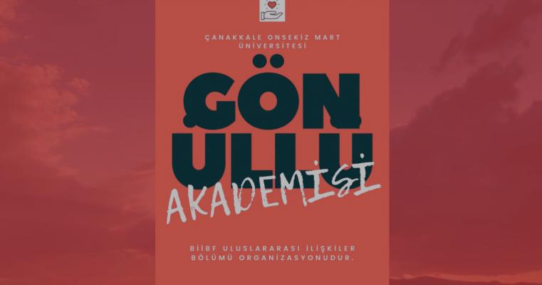 ÇOMÜ Gönüllü Akademisi!