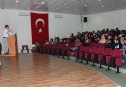 Bayramiç MYO öğrencilerine İş Sağlığı ve Güvenliği eğitimi