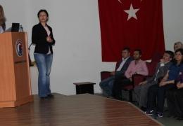 Bayramiç MYO'da Erasmus dersi