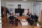 Rektör Prof. Dr. Yücel Acer'den  Bayramiç Meslek Yükseokuluna Ziyaret