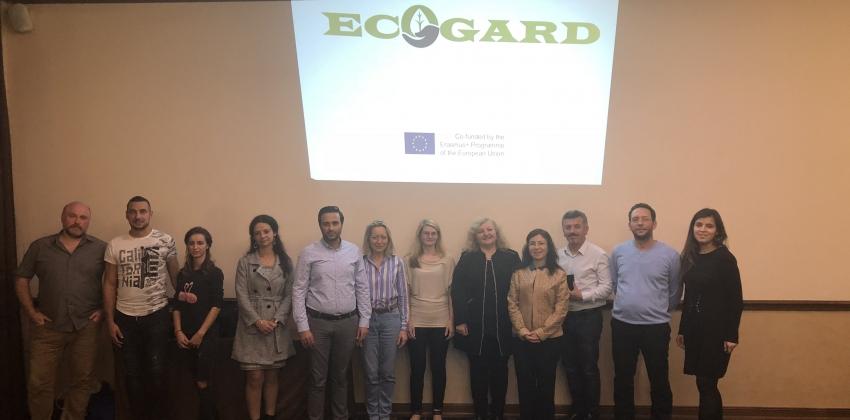 ECOGARD Avrupa Birliği ERASMUS+ Projesi'nin 3. Toplantısı Plovdiv, Bulgaristan'da yapıldı