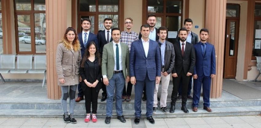 Bayramiç MYO'dan Başkan Arslan'a teşekkür