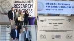"""Öğretim Üyelerimiz """"Global Business Research Congress"""" de Ödül Aldı"""
