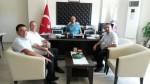 ÇOMÜ Ziraat Fakültesi Dekanı Prof.Dr.Alper DARDENİZ'in Ziyareti