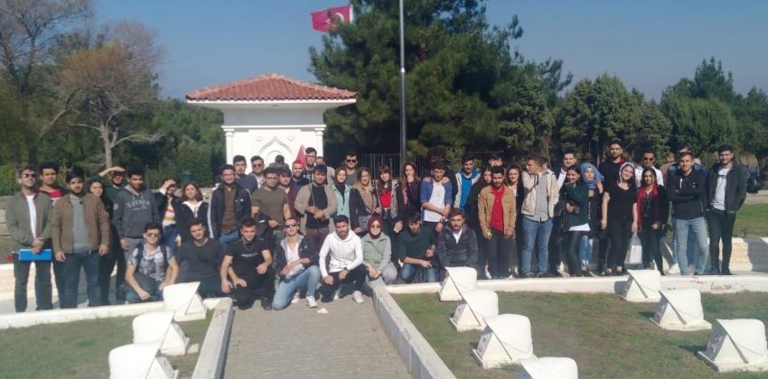 ÇOMÜ Öğrencileri Ecdadı ile Buluşuyor Projesi kapsamında gezi düzenlendi.