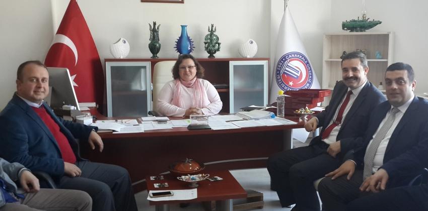 Çan Meslek Yüksekokulu Sekreterliğine Gülşen Demircan Asaleten atandı
