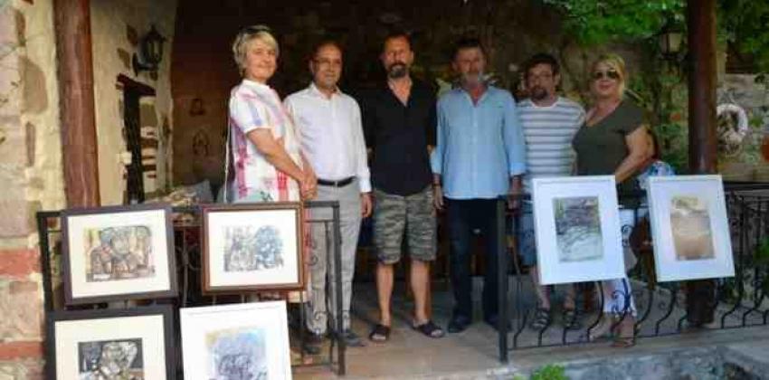 Ayvalık Kültür Sanat Günleri Kapsamında Ayhan Taşkıran Kişisel Resim Sergisi