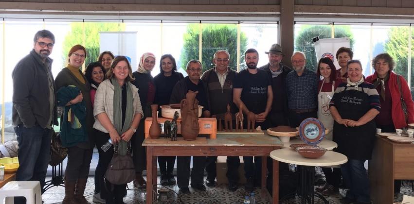 (ÇASEM) Geleneksel ve Çağdaş Çanakkale Seramikleri Çalıştayı