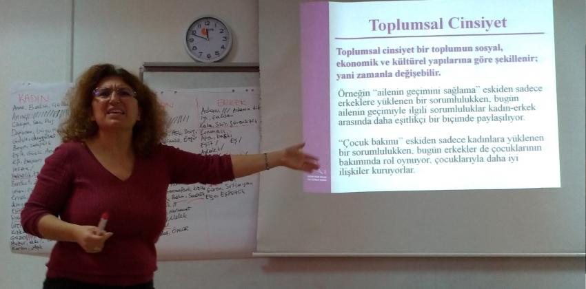 El Sanatları Bölümü Söyleşileri II - Toplumsal Cinsiyet Eşitliği