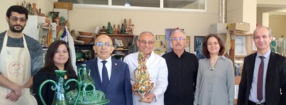 Rektör  Prof. Dr.  Sedat MURAT'ın ÇASEM ziyareti