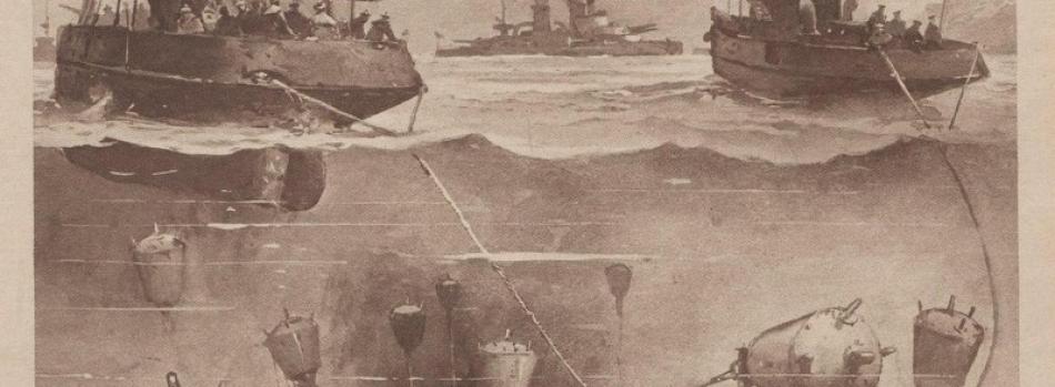 Çanakkale Boğazı'nda Mayın Tarama Operasyonu (25 Şubat-17 Mart 1915)