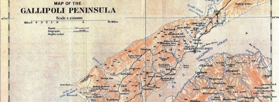 Çanakkale Savaşları'na Farklı Bir Yaklaşım: Coğrafi Bilgi Sistemleri'nde Gelibolu 1915