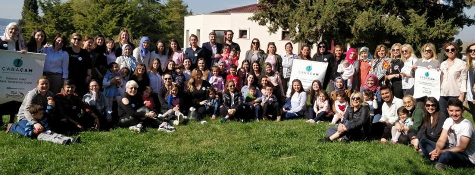 ÇABA Derneği Üyeleri Merkezimizi ziyaret ederek çocuklarımız ve aileleri ile eğitmenlerimiz ve gönüllülerimiz ile bir araya geldiler...