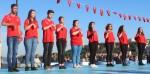 ÖĞRENCİLERİMİZ 29 EKİM TÖRENLERİNDE İSTİKLAL MARŞI'NI İŞARET DİLİ İLE OKUDU