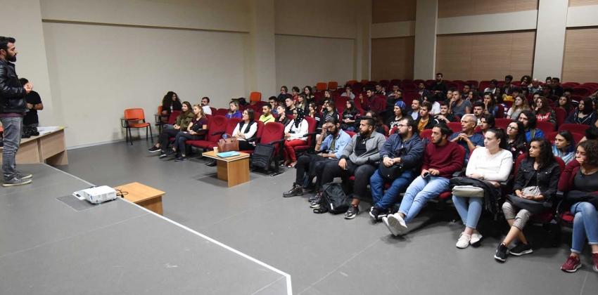 Görüntü Yönetmeni Deniz Pişkin ve en yeni Nikon modelleri öğrencilerle buluştu