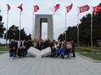 """""""ÇOMÜ ÖĞRENCİLERİ ECDADI İLE BULUŞUYOR"""" Projesi Kapsamında Gelibolu Yarımadası Şehitlik Turu"""