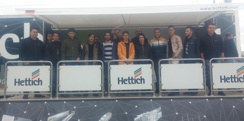 """Öğrencilerimiz """"Hettich on Tour"""" Etkinliğinde"""