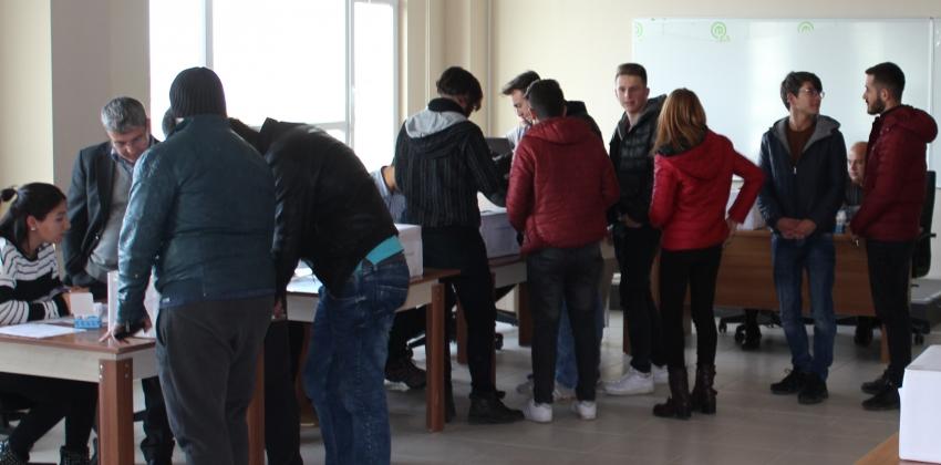 Yüksekokulumuz Öğrenci Temsilcisi Seçimleri Yapıldı.