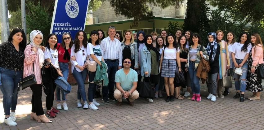 Giyim Üretim Teknolojisi Programından Araştırma ve İnceleme Gezisi
