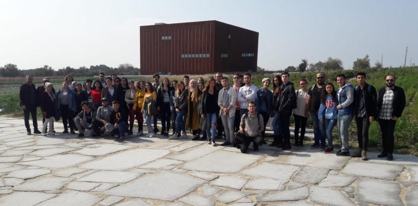 Grafik Tasarımı Programından Troya Müzesi Gezisi