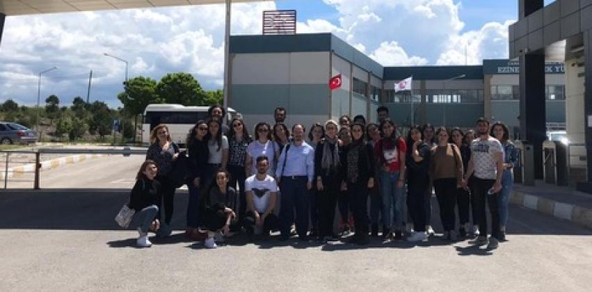 Gıda İşleme Bölümü Öğrencilerinden Ezine ve Çevresine Yönelik Gıda İşletmeleri Teknik Gezisi