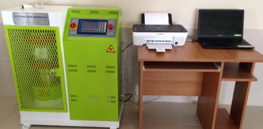 Yapı Malzemeleri Laboratuvarına Cihaz Alımı