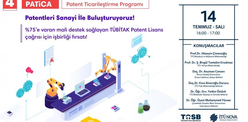 PATİCA - Patent Ticarileştirme Programı