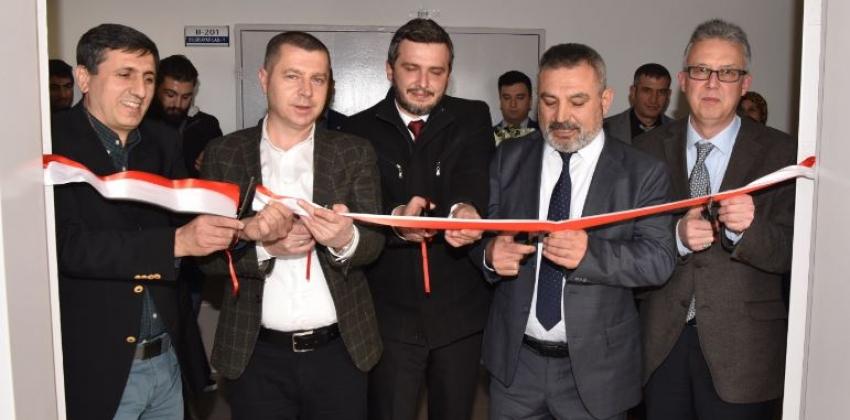 İş Sağlığı ve Güvenliği Bölümü Laboratuvar Açılışı Yapıldı